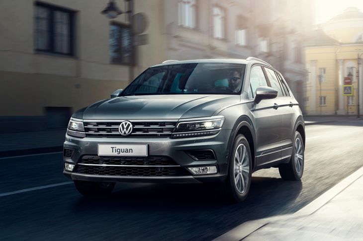 Volkswagen Tiguan в финале премии World Car of the Year 2017