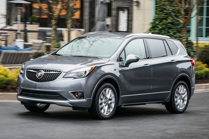 Buick Envision обновился