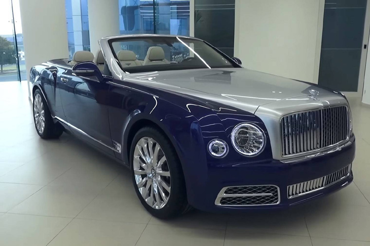 Bentley Grand Convertible был замечен в Дубае