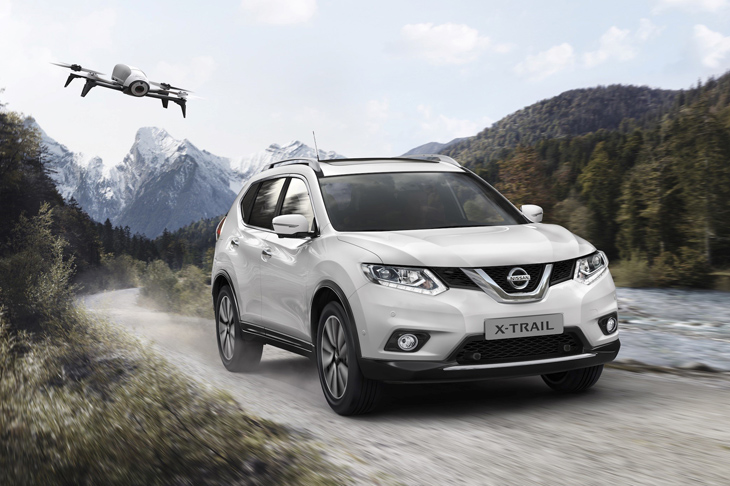 Nissan X-Trail X-Scape оснастят дроном