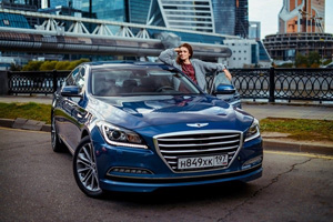 Ирена Понарошку в проекте Hyundai GENESIS for VIP