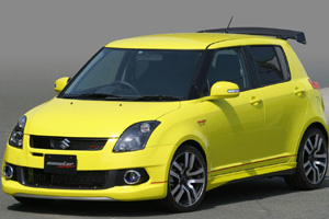 Компания Monster-Sport Group поработала над Suzuki Swift