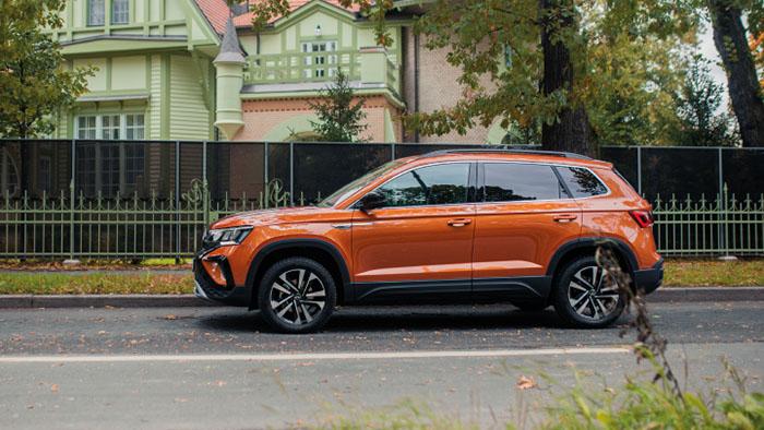 Абсолютно новый Volkswagen Taos — сравнения неуместны