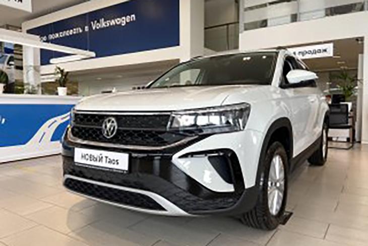 Новый Volkswagen Taos добрался до дилеров