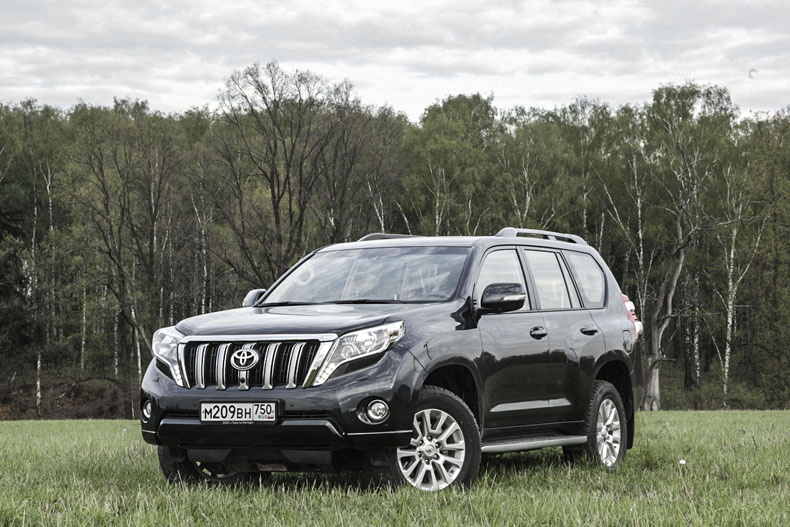 Toyota Land Cruiser Prado: Я – легенда!