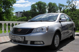 Geely Emgrand в All Road Show 2012