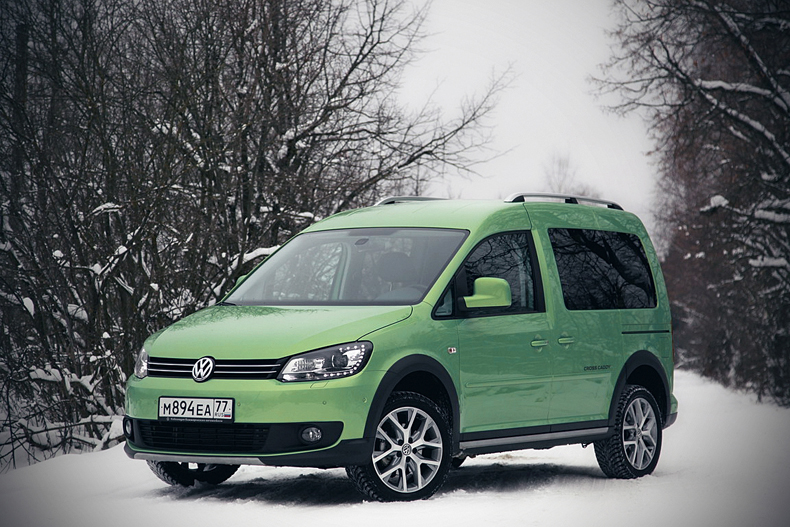 Volkswagen Cross Caddy: Не для всех