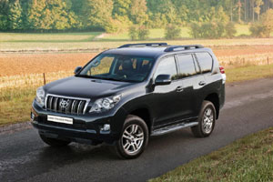 Новый Toyota Land Cruiser Prado уже в России