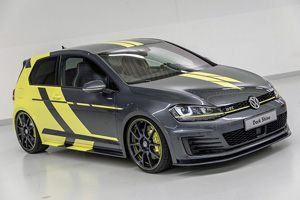 Стажёры Volkswagen представили Golf GTI Dark Shine