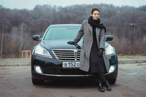 Актриса Марина Александрова присоединилась к проекту Hyundai EQUUS for VIP