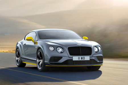 Bentley обновил Continental GT Speed