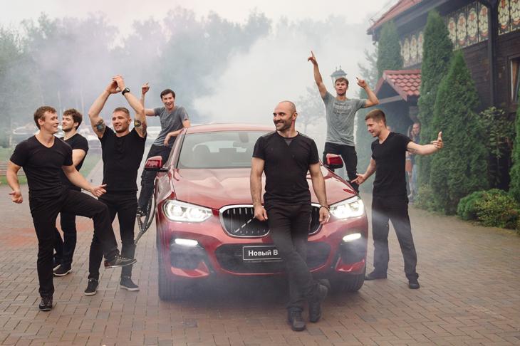 Время показать характер. Презентация нового BMW X4 в Азимут СП efa7c6769c4