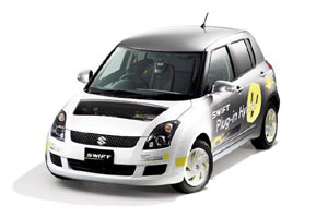 Гибридный Suzuki Swift покажут в Токио