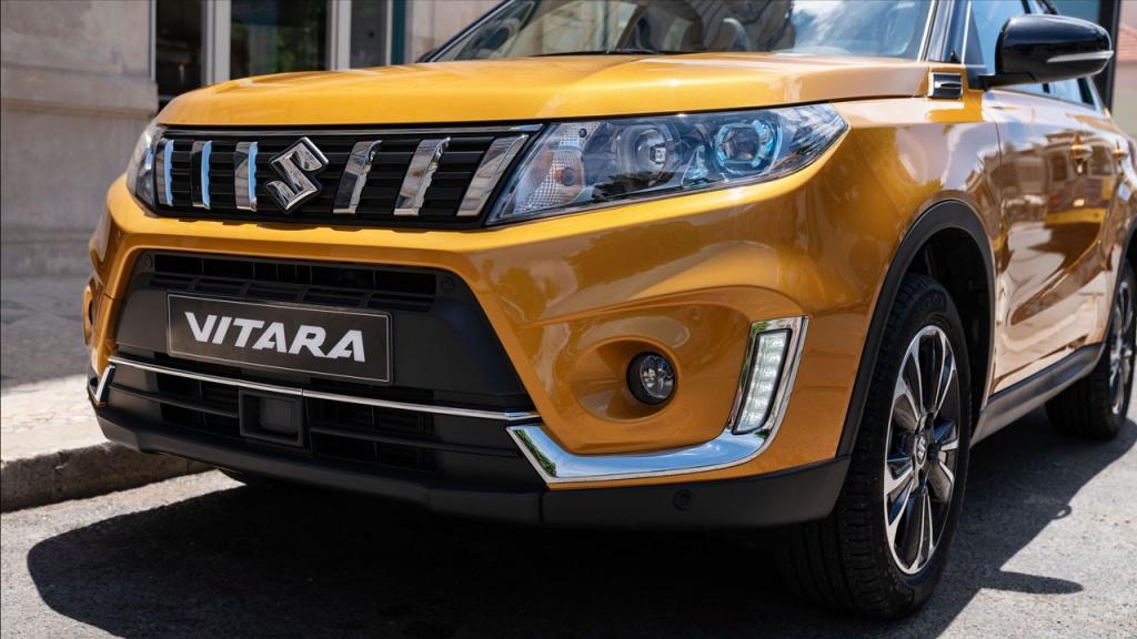 Обновленный Suzuki Vitara