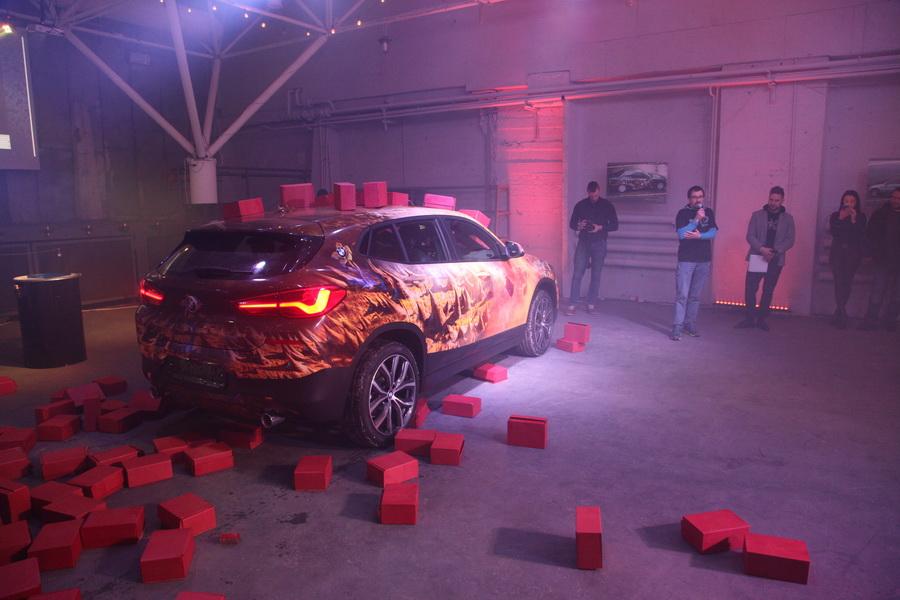 Компания «Азимут СП» представила новый BMW X2 a9d0a5d0465